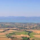 Ландшафты Умбрии и Тразименское озеро, Италия
