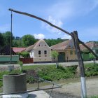 Деревня Вискри в Трансильвании, Румыния