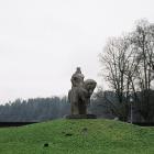 Памятник Витовту, Бирштонас, Литва