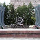 Чёрный тюльпан – памятник павшим в боях в Афганистане, Екатеринбург