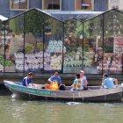 Плавучий цветочный рынок Амстердама