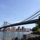 Бруклинский висячий мост, Нью-Йорк
