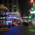Улицы Шамони вечером