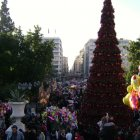 Новый год в Афинах