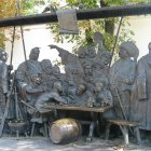 Памятник «Запорожцы пишут письмо турецкому султану», Краснодар