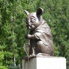 Памятник лабораторной мыши, Новосибирск