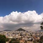 Гора Ликабет, Афины