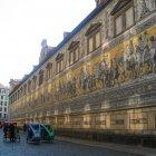 Панно Шествие князей, Дрезден