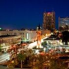 Сан-Антонио в канун Нового года, США