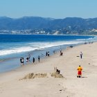 Пляж Санта-Моника, Лос-Анджелес