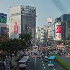 Перекрёсток Сибуя, Токио