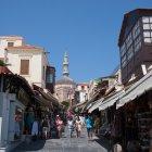 Улица Сократа, Родос