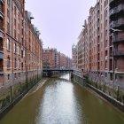 Портовые склады Гамбурга