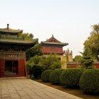 Вход в храм, город Шицзячжуан, Китай