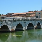 Мост Тиберия, Римини