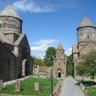 Монастырский ансамбль в Цахкадзоре, Армения