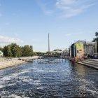 Плотина Городского пруда на реке Исеть, Екатеринбург