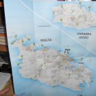 Карта Мальты