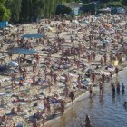 Пляж Гидропарк, Киев, Украина