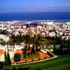 Вид Хайфы со смотровой площадки, Израиль