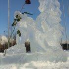 Ледяная скульптура в Воронцовском парке. Февраль 2011.