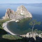 Байкал. Ольхон. Мыс Бурхан - одна из 9-ти святынь Азии.