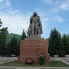 памятник Г.И.Чорос-Гуркину