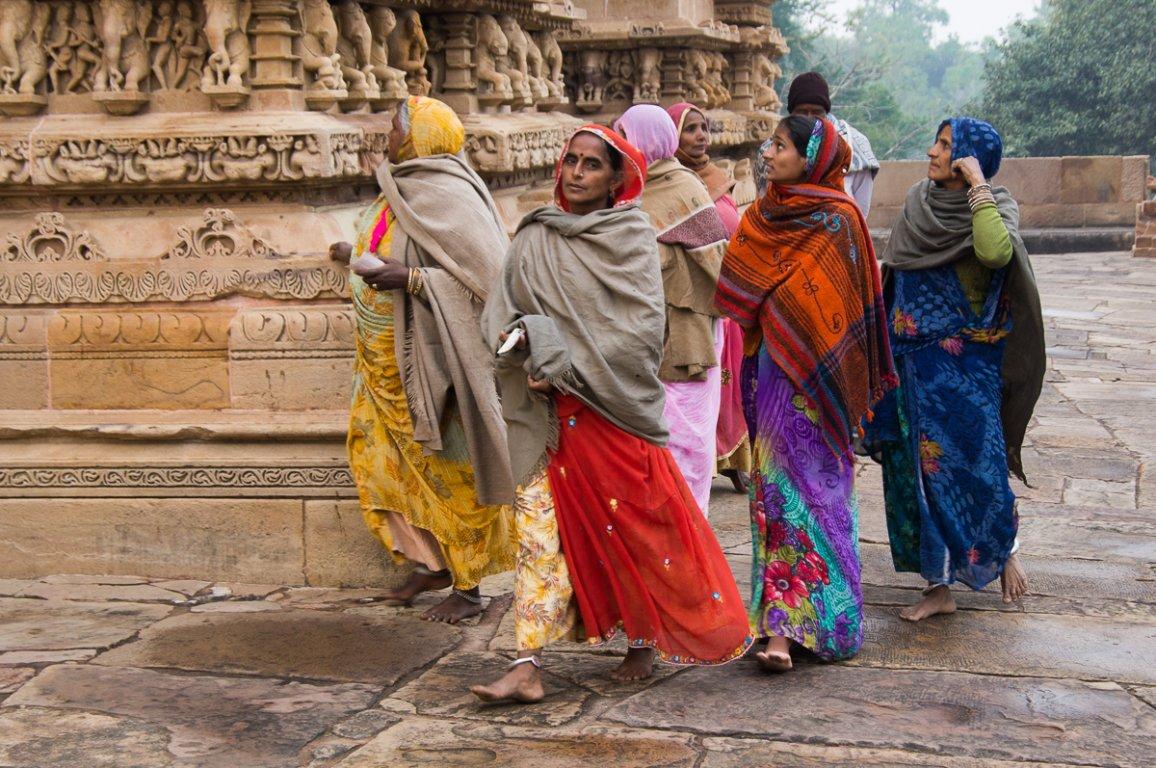 В чем ходят в индии девушки фото