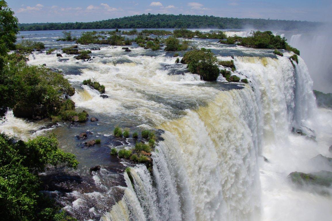 Водопады игуасу бразильская сторона