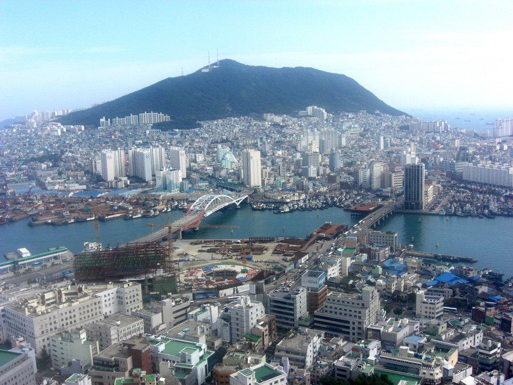 город пусан южная корея фото