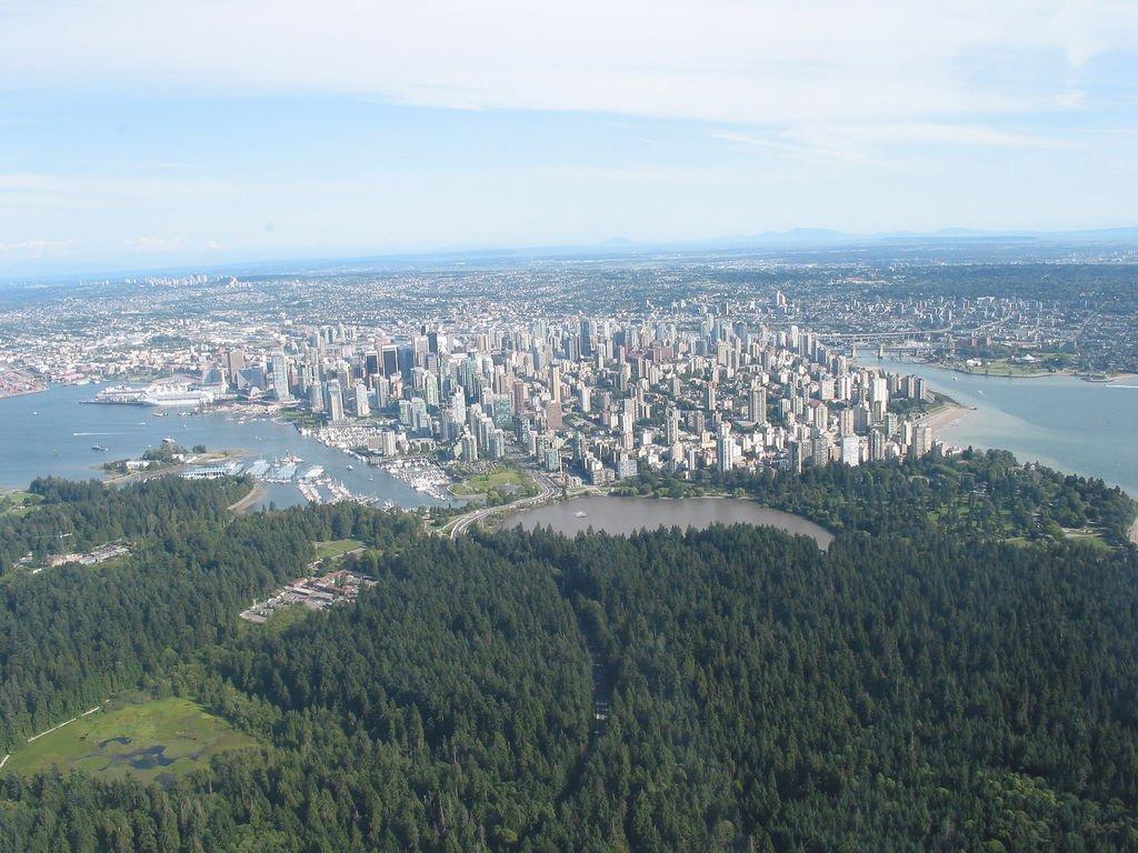 Города канады ванкувер