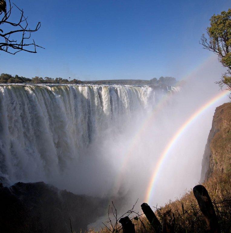 Водопад виктория зимбабве