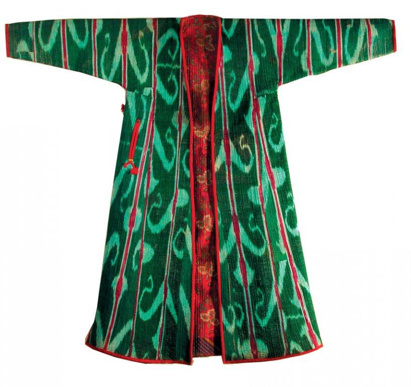 фото узбекский чапан